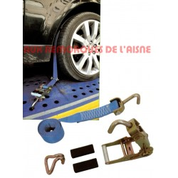 SANGLE PORTE VOITURE 3 POINTS